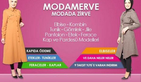 Tesettür Giyim ModaMerve.com